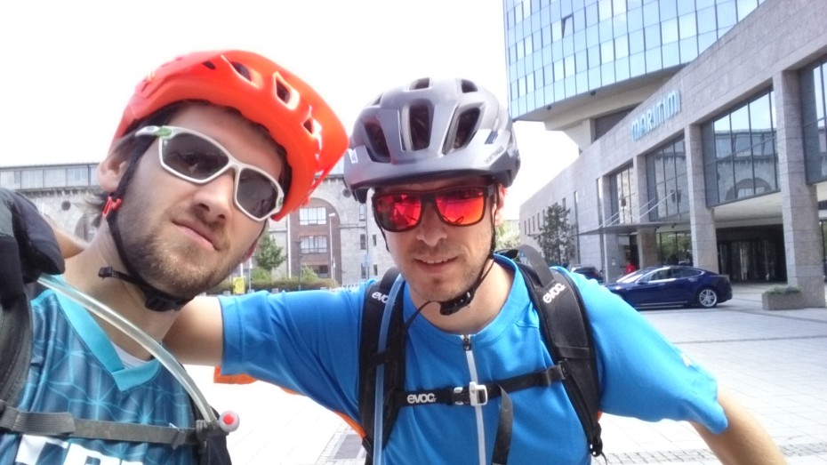 Joshua und Dennis